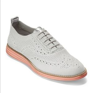 Cole Haan Grand Knit Wing Tip Sneaker